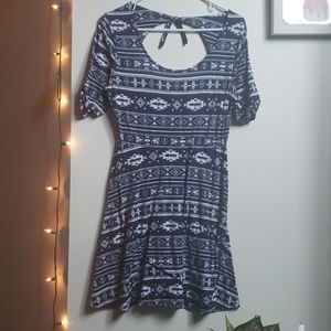 Tribal Fit n Flare dress
